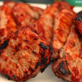 mango bbq pork