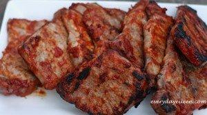 mango bbq sauce with pork