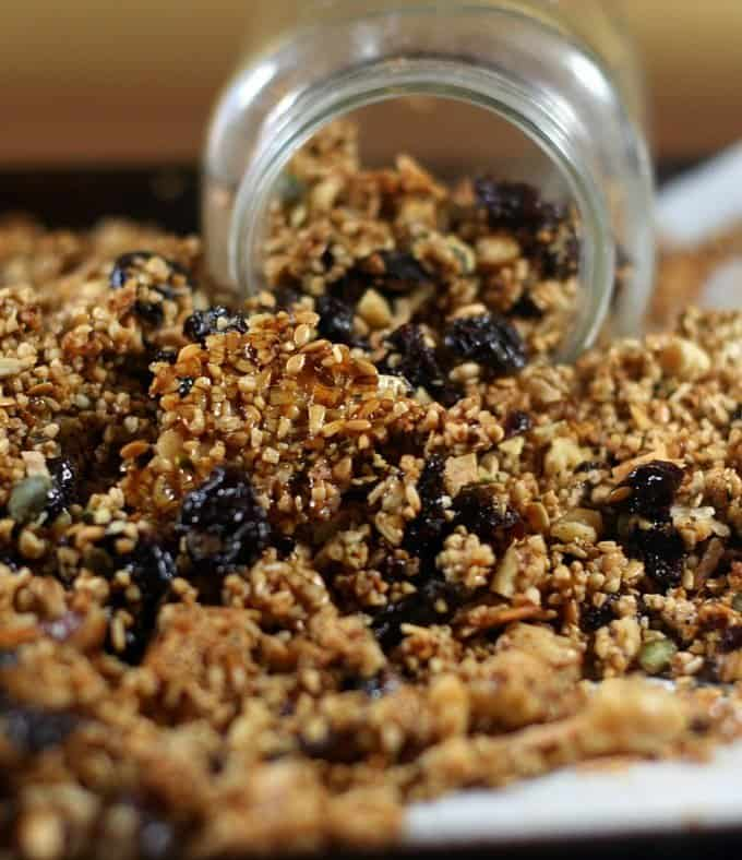 2016 & Cherry Coconut Granola
