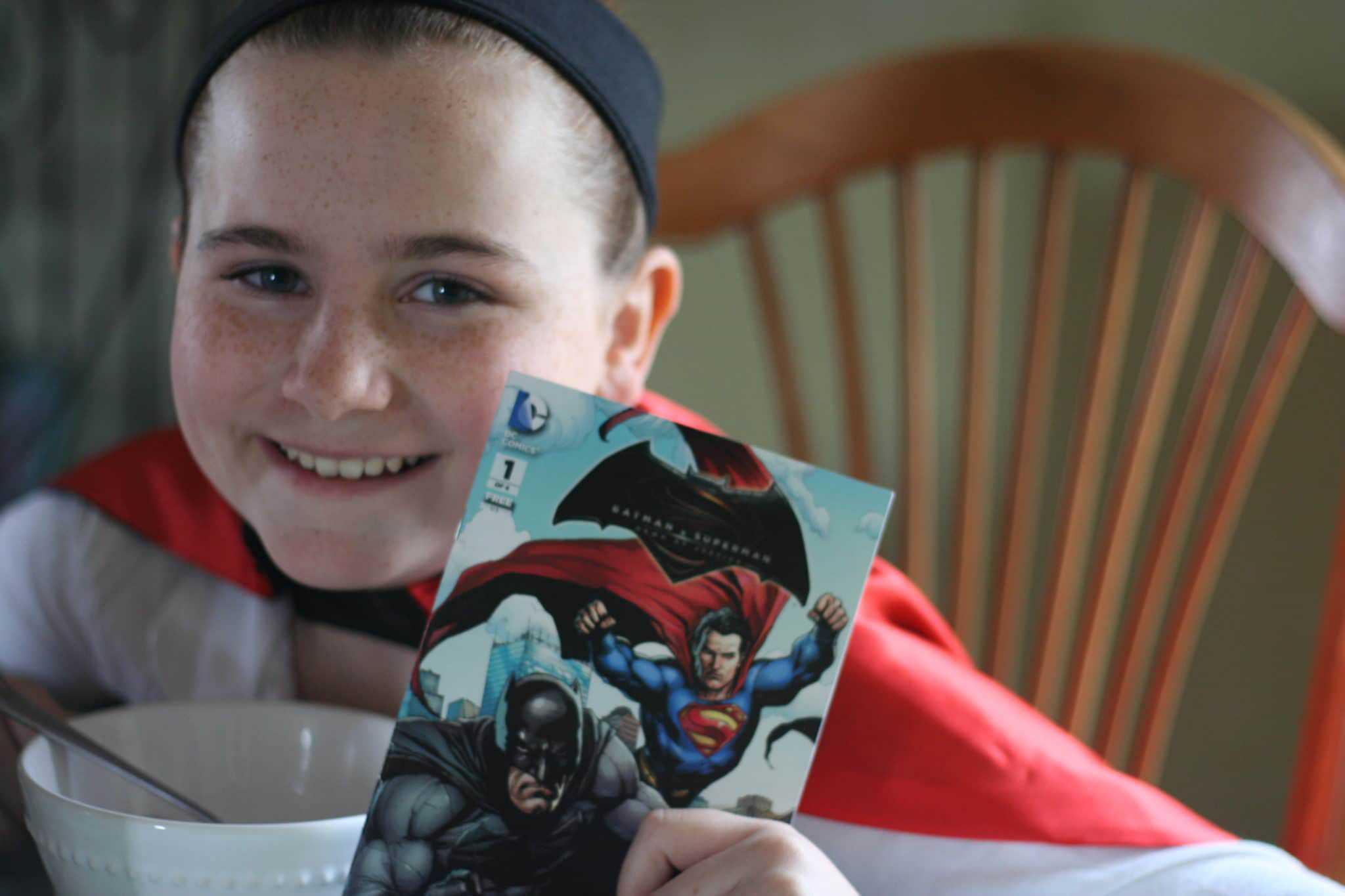 Batman vs Superman Cereal