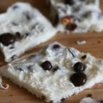 Frozen Vanilla Coconut Bark