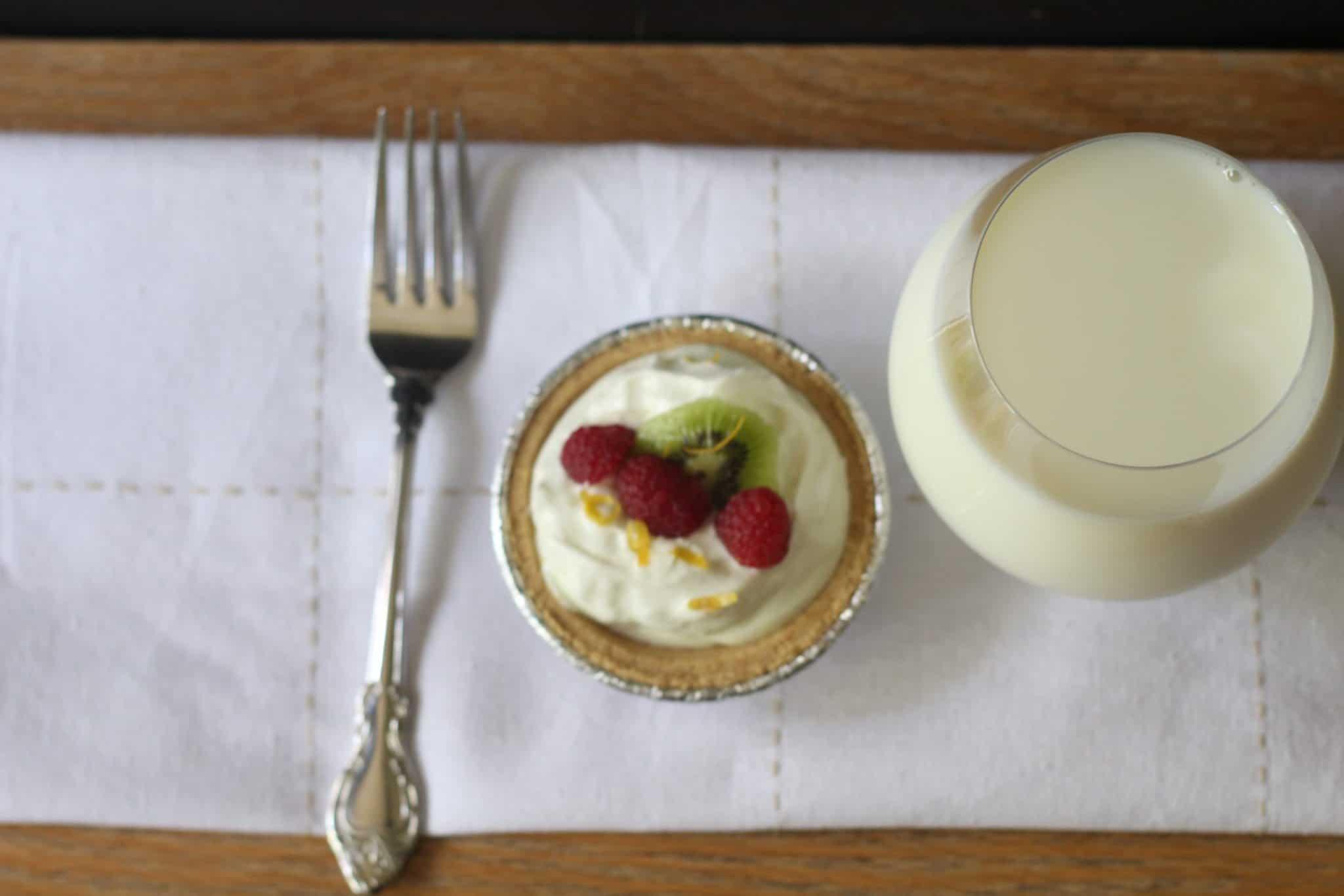 mini no bake key lime cheesecakes