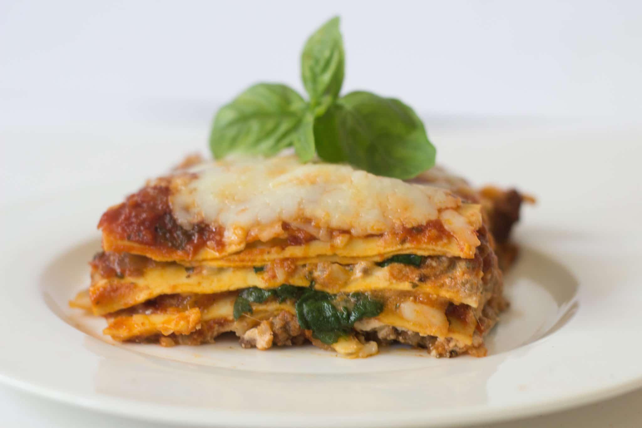 low-fat one skillet lasagne