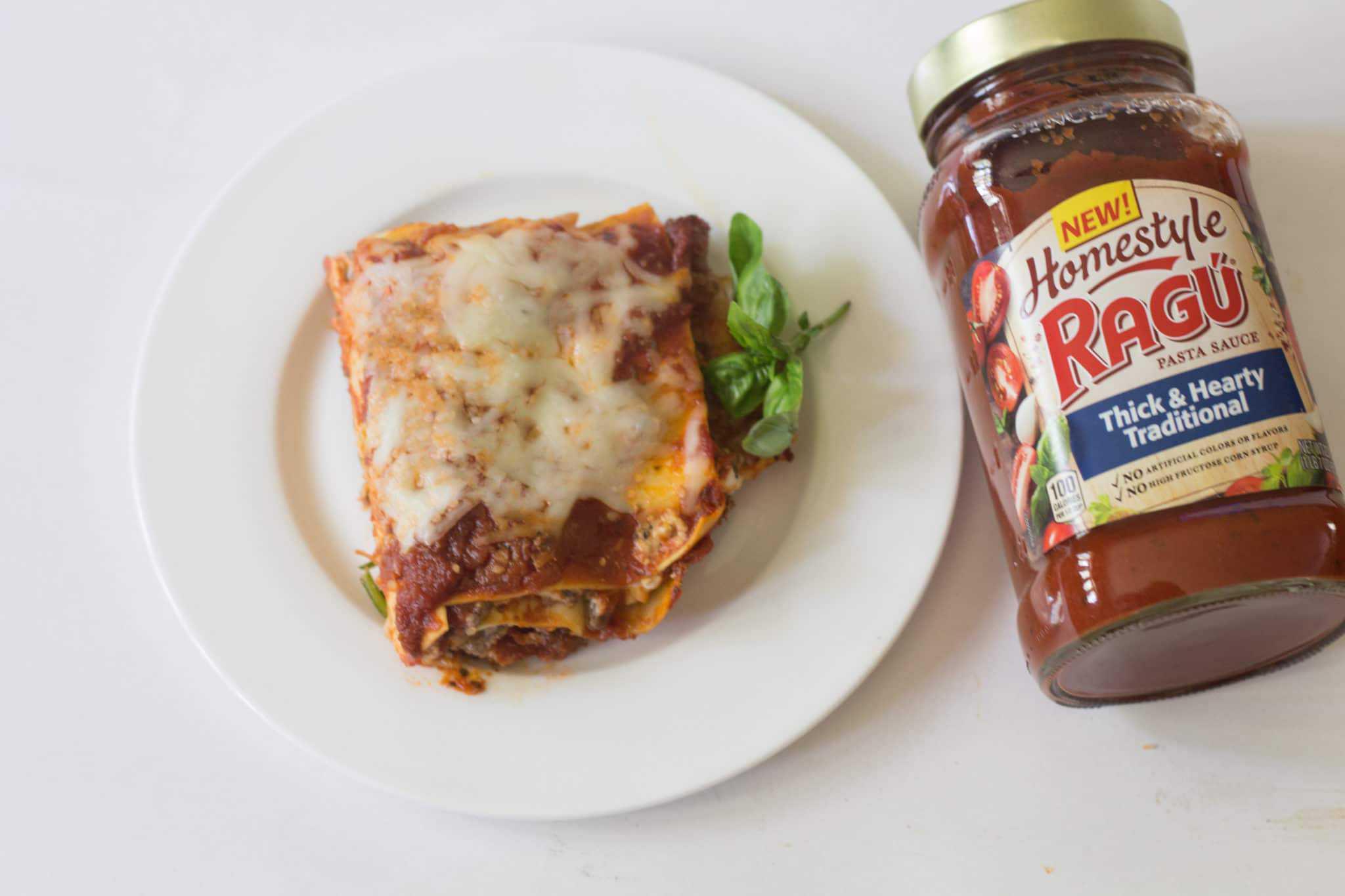 low-fat skillet lasagne