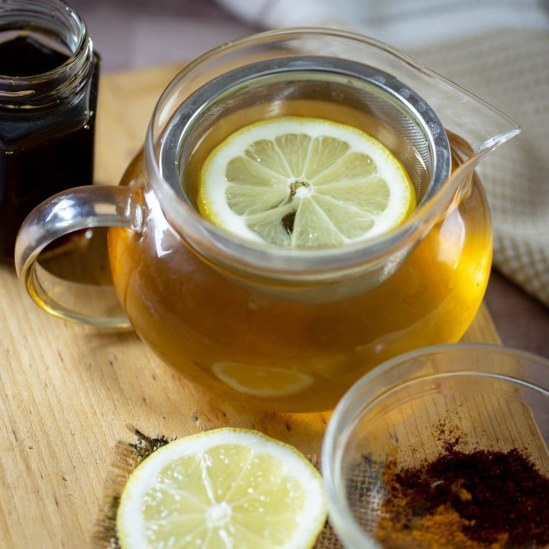Detox Lemon Ginger Green Tea - Everyday