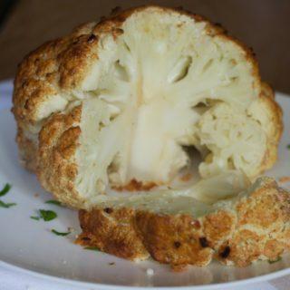 whole roasted cajun cauliflower fb