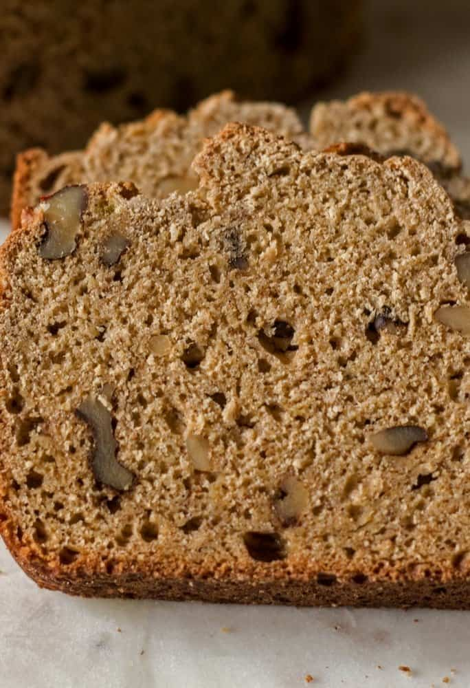 low-fat banana nut bread