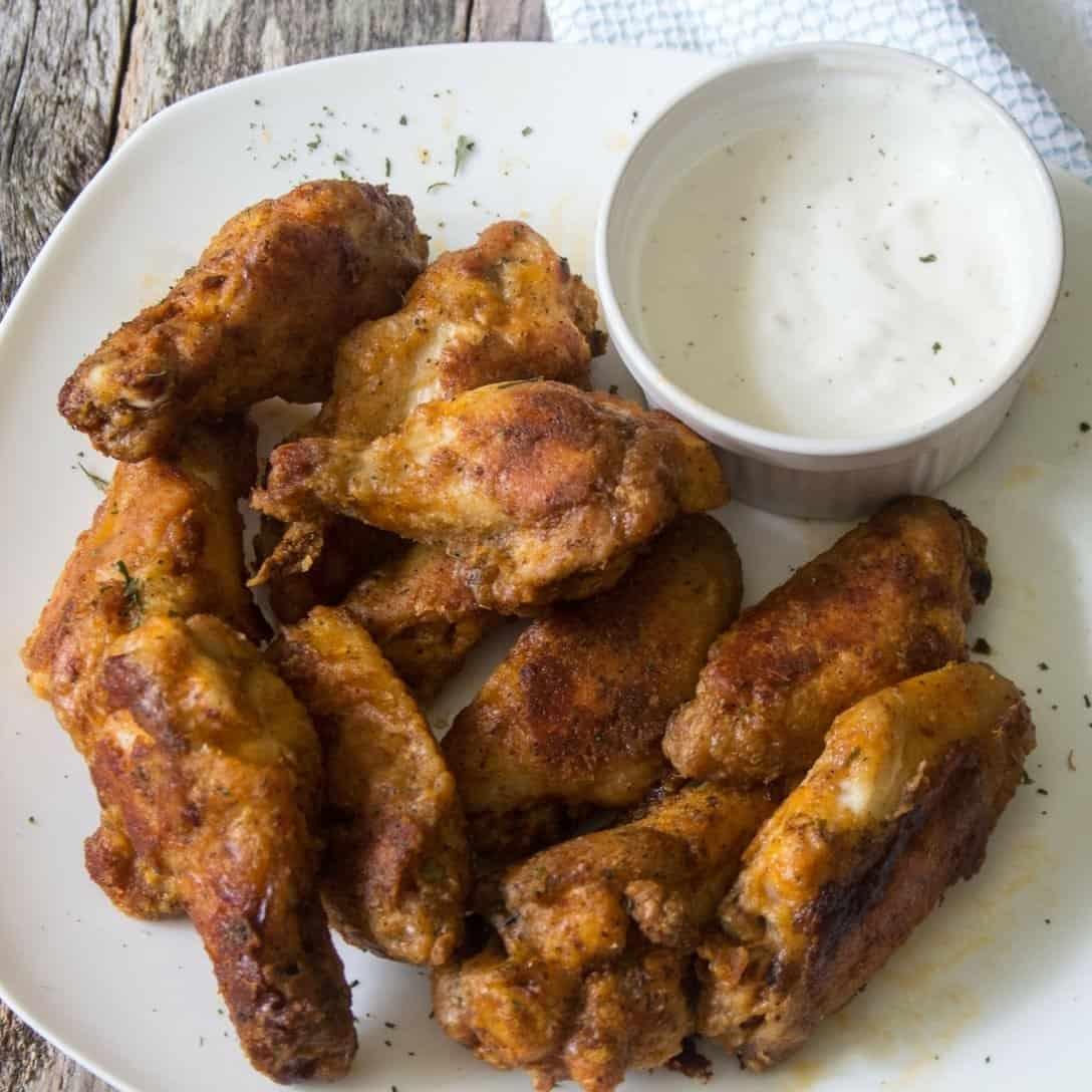 easy crispy buffalo chicken wings