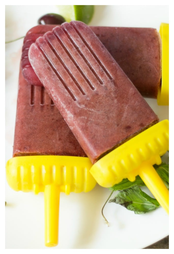healthy homemade ice popsicles