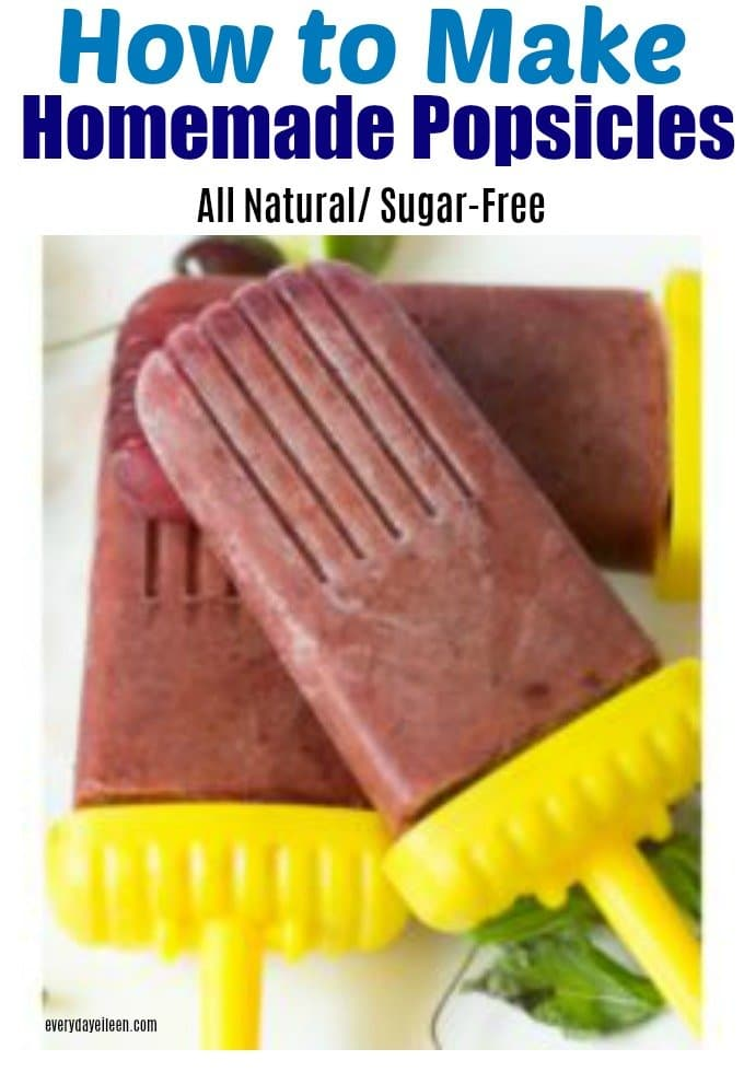 Homemade popsicles, sugar-free and full of flavor from the natural flavors of fruit.