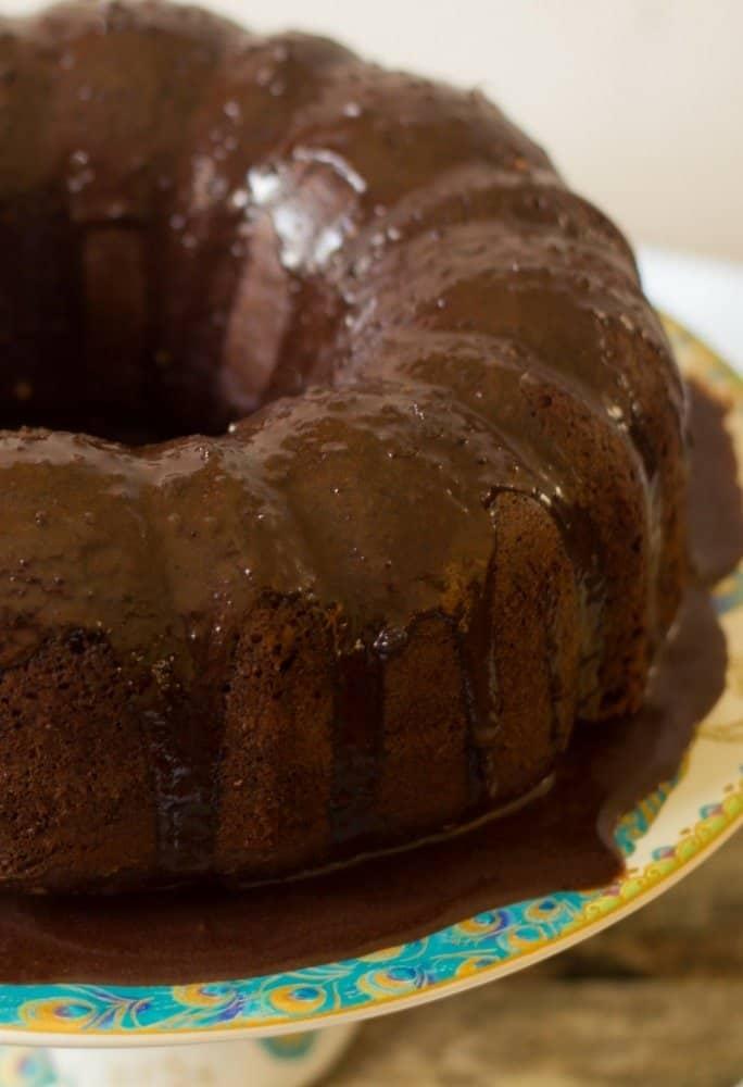 Chocolate Coconut Cream Cheese Bundt Cake Everyday Eileen