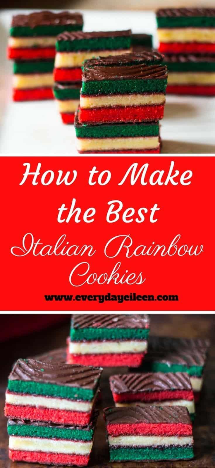 How to Make the Best Italian Rainbow Cookies