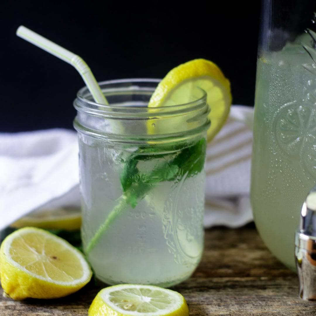 Homemade Mint Ginger Lemonade Everyday Eileen