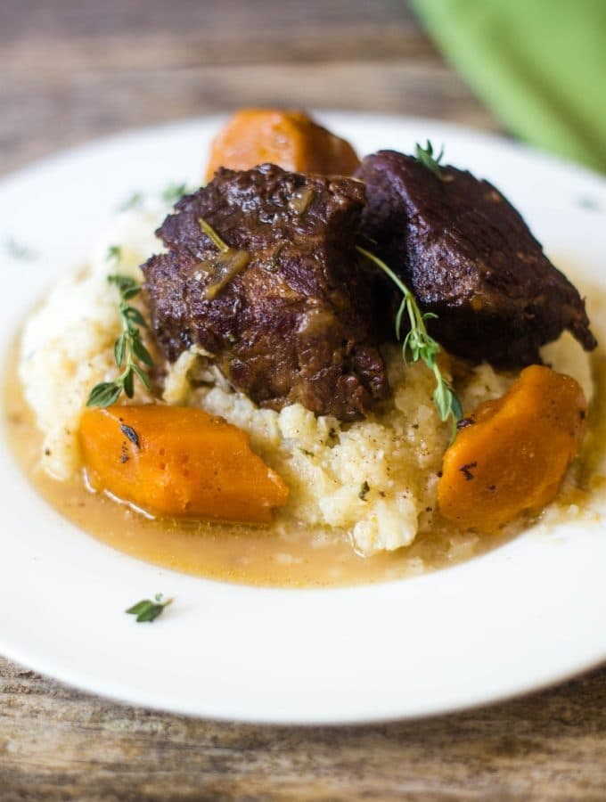 Easy Instant Pot Beer Braised Short Ribs