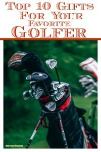 Golf bags signifying the best gifts for your favorite golfers