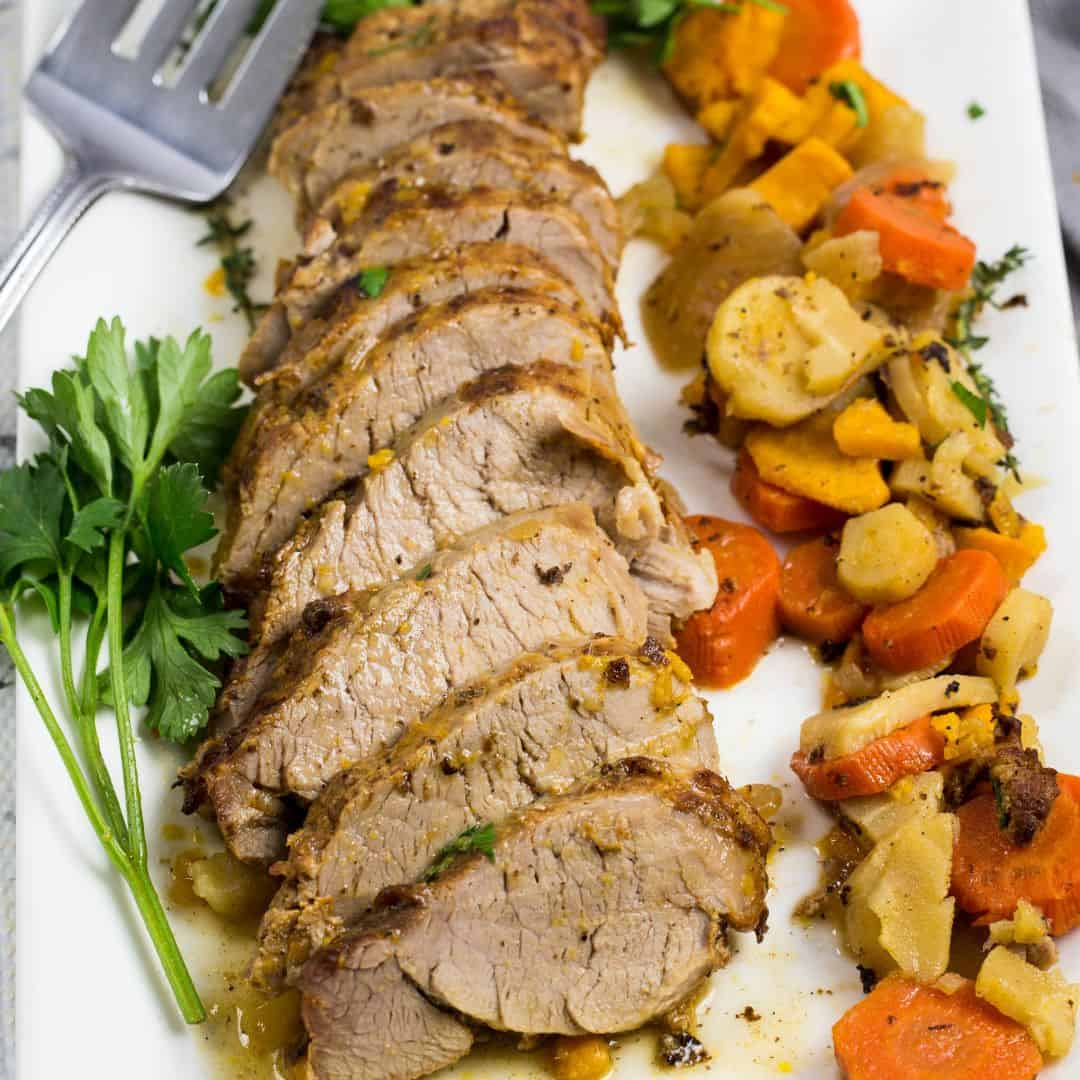 Instant Pot Pork Tenderloin With Root Vegetables Everyday Eileen