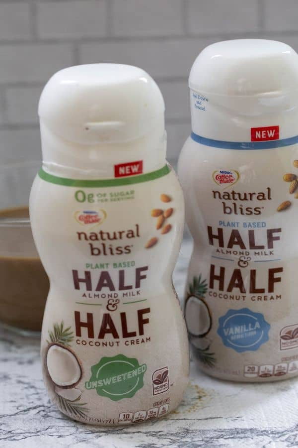 Coffee mate® natural bliss® Plant Based Half & Half Unsweetened 16oz Coffee mate® natural bliss® Plant Based Half & Half Vanilla 16oz