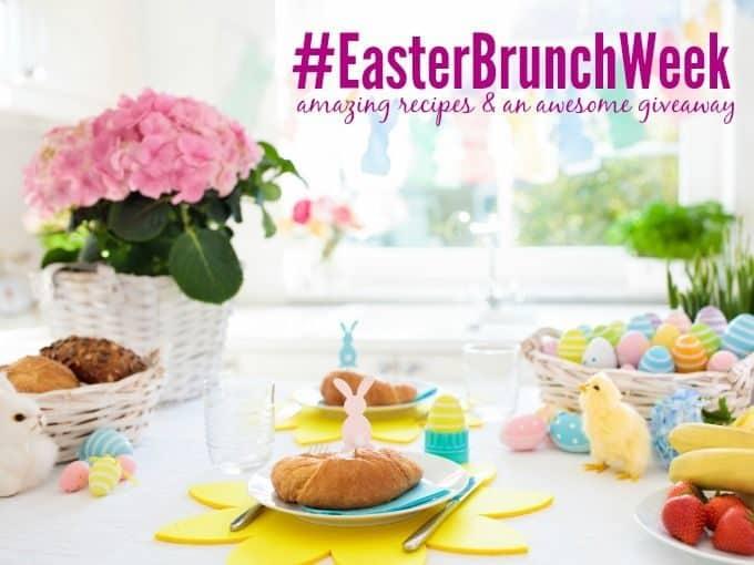 Easter brunch week recipes promotional photo