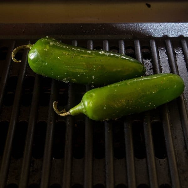 jalapenos grilling to make jalapeno popper dip