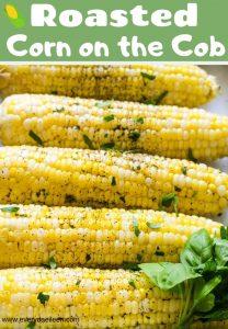 Delicious corn on the cob