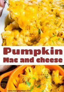 a pinterest pin for mac and cheese