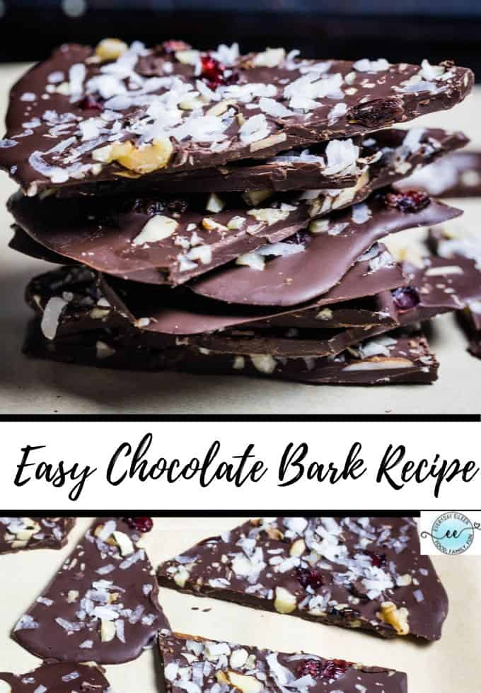Learn to make homemade chocolate bark with your favorite superfood toppings like nuts, dried fruits, and seeds. A healthier vegan snack option that will take minutes to prepare and very cost-effective to make your own. #ad #choctoberfest via @/everydayeileen/
