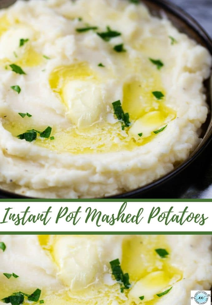 Instant Pot Mashed Potatoes made with tangy buttermilk, sour cream, and melted butter make the most fluffy and creamy potatoes. Easy to make, as well as stovetop instructions. #instantpotbuttermilkpotaatoes #instantpotmashedpotatoes #mashedpotatoes #everydayeileen via @everydayeileen