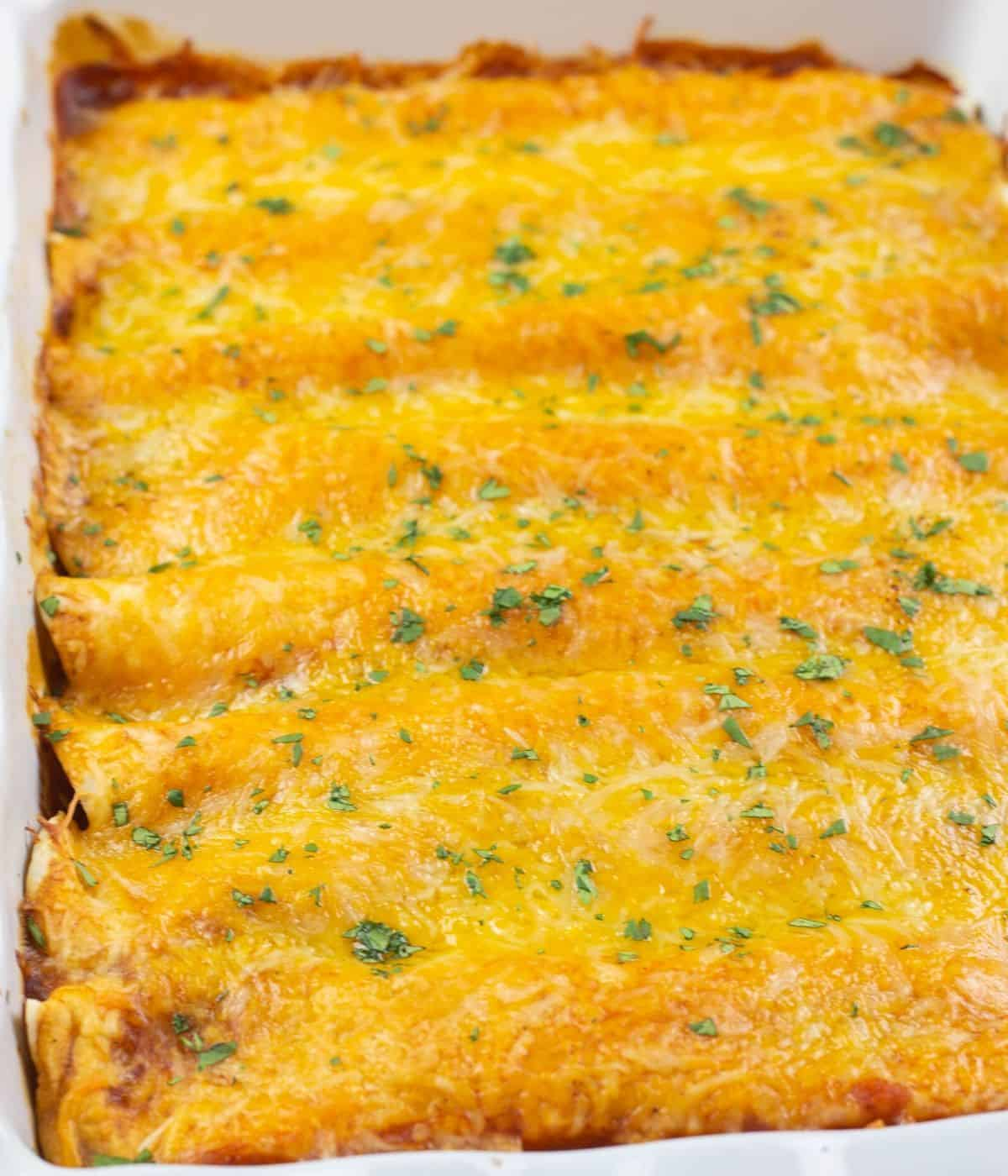 Easy Beef Enchiladas Recipe Everyday Eileen