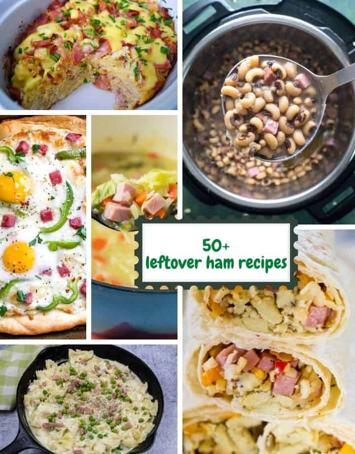 recipes made with leftover ham