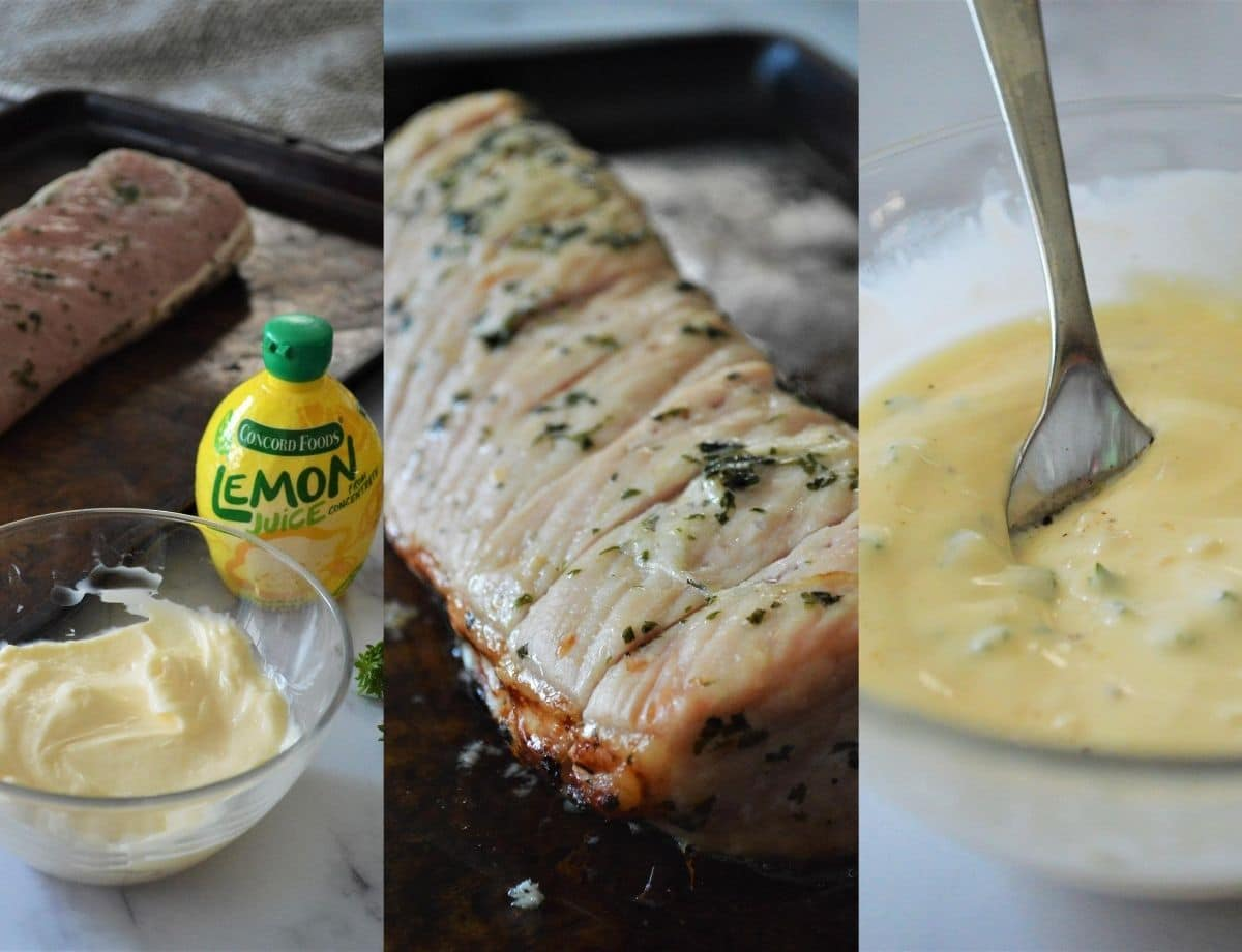 Step by step instructions to make roasted pork tenderloin