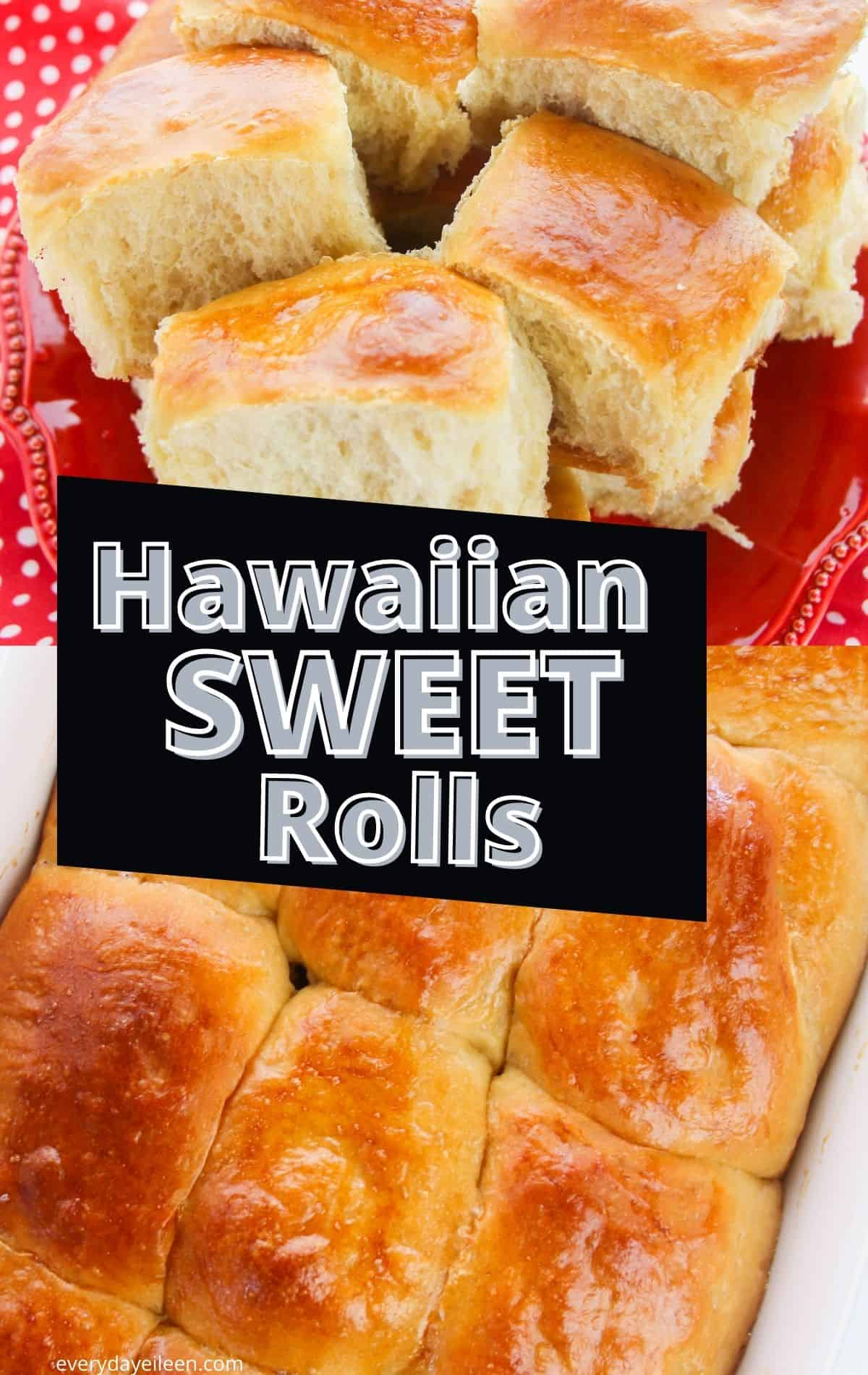Hawaiian Sweet Roll Recipe produces light and fluffy rolls that are perfect as a side to any meal. These are perfect for homemade slider. This homemade copycat Hawaiian roll recipe is a crowd pleaser. We have also included a gluten-free option for you. #homemadehawaiianrolls #hawaiiansweetrolls #homemadesliderrolls #everydayeileen  via @/everydayeileen/