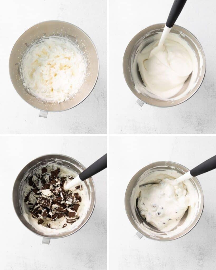 No churn cookies and cream ice cream